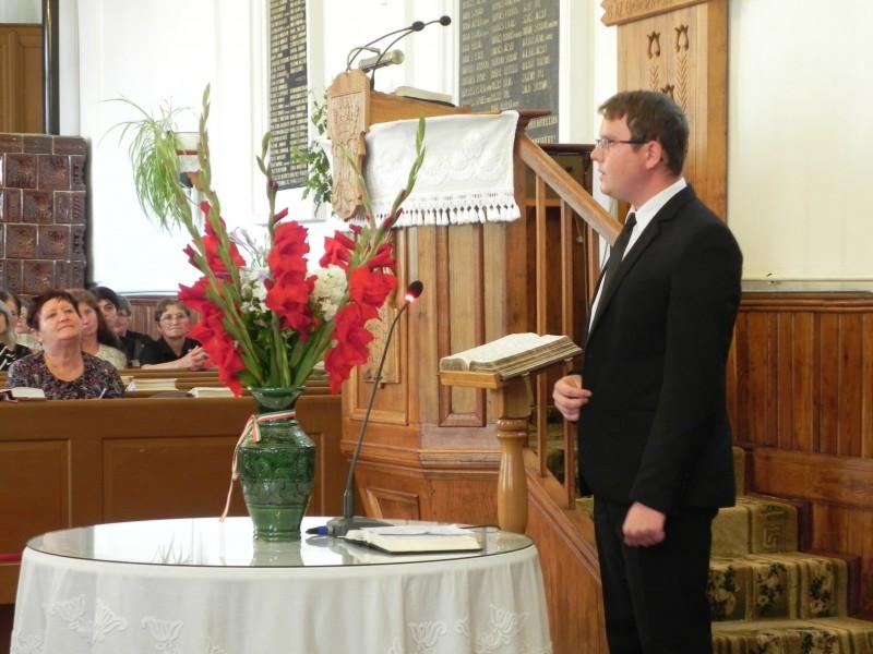 Jakó Sándor kántor kibúcsúzott gyülekezetünkből