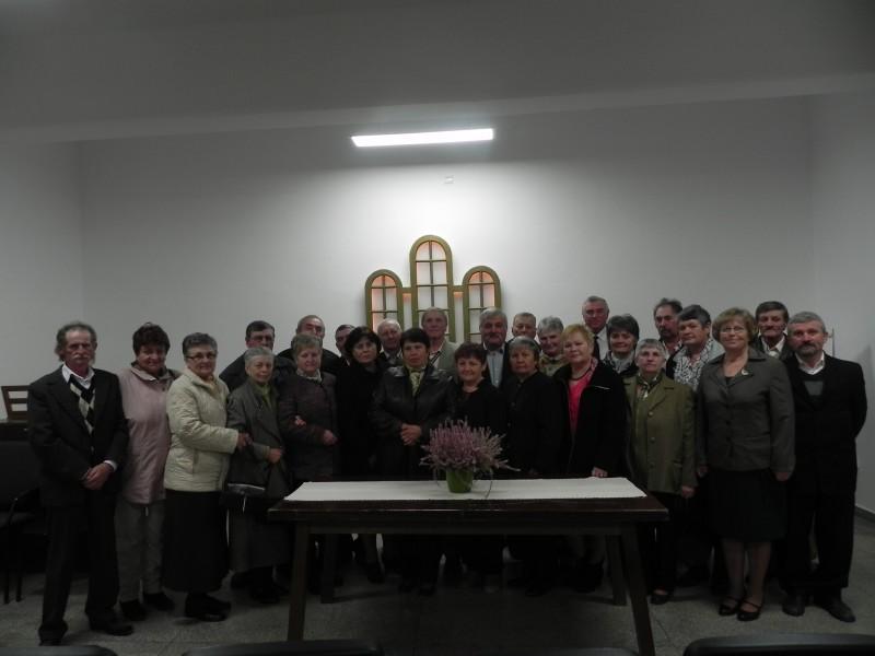 60 évesek találkozója