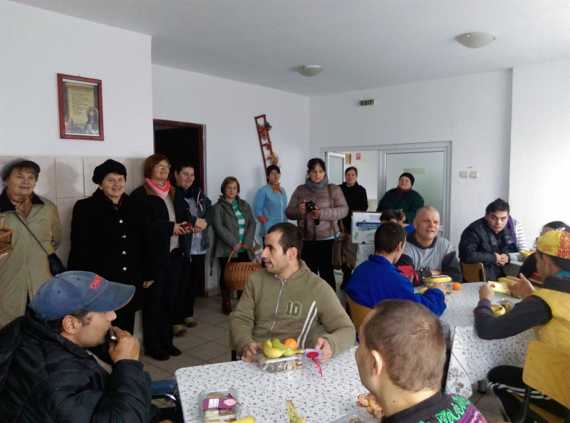 Látogatás a kiskapusi idősek és fogyatékkal élő fiatalok otthonába